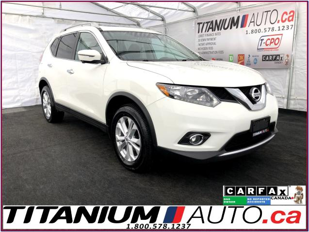 2016 Nissan Rogue SV Tech+AWD+GPS+360 Camera+Blind Spot+Pano Roof+XM