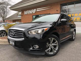 Used 2014 Infiniti QX60 AWD Pano Sunroof Navi DVD Remote Starter Certified for sale in Concord, ON