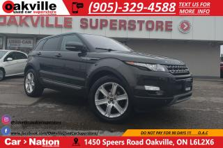 Used 2013 Land Rover Evoque PURE PLUS | LEATHER | PANO ROOF | HTD SEATS | NAVI for sale in Oakville, ON