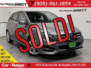 Used 2016 Mercedes-Benz B-Class B250 4MATIC| DUAL SUNROOF| NAVI| LOW KM'S| for sale in Burlington, ON