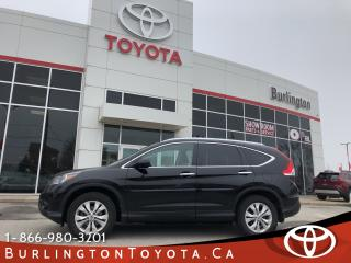 Used 2013 Honda CR-V TOURING LOW KM LOADED for sale in Burlington, ON