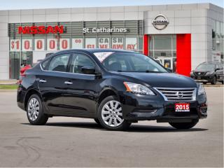 Used 2015 Nissan Sentra 1.8 SV Local Trade !! for sale in St. Catharines, ON
