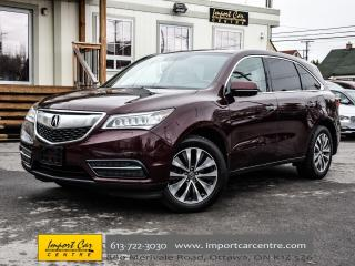 Used 2015 Acura MDX Nav Pkg LEATHER ROOF BK.CAM H.STEER WOW!! for sale in Ottawa, ON