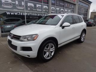 Used 2012 Volkswagen Touareg 3.0 TDI Execline, NAVIGATION. PANO ROOF for sale in Etobicoke, ON