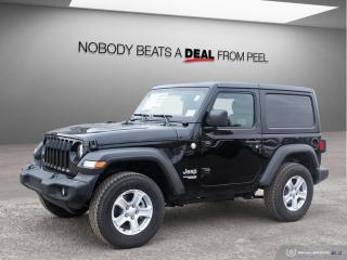 New 2019 Jeep Wrangler Sport 4X4 for sale in Mississauga, ON