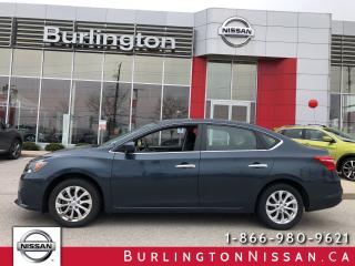 Used 2016 Nissan Sentra SV, ACCIDENT FREE, 1 OWNER, MOONROOF ! for sale in Burlington, ON