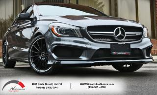Used 2015 Mercedes-Benz CLA-Class CLA45|AMG Turbo|4MATIC|Navigation|Sunroof|Backup Camera for sale in Toronto, ON