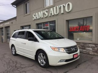 Used 2012 Honda Odyssey 4DR WGN TOURING W/RES & NAVI for sale in Hamilton, ON