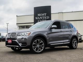 Used 2015 BMW X3 xDrive|DIESEL|NAVIGATION|CAM|H/K|DAKOTA LEATHER|ROOF for sale in Kitchener, ON