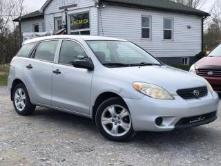 Used 2006 Toyota Matrix No-Accidents 5-Speed Manual A/C for sale in Sutton, ON