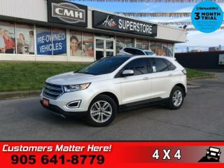 Used 2016 Ford Edge SEL  AWD NAV LEATH PANO-ROOF CAM HS P/SEATS for sale in St. Catharines, ON