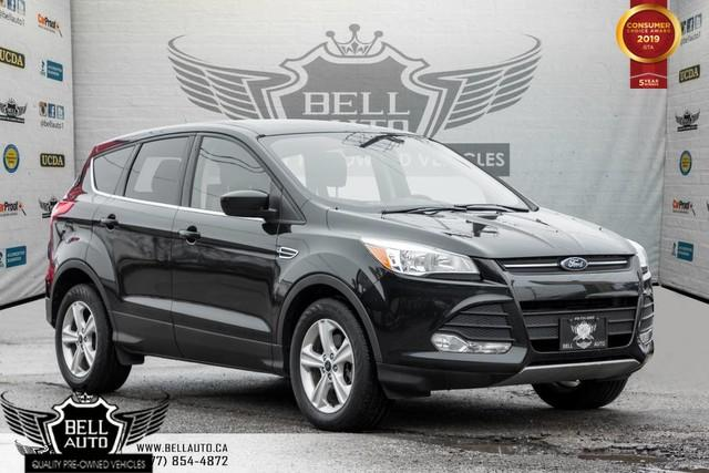 2015 Ford Escape SE, AWD, BACK-UP CAM, ALLOY, BLUETOOTH, USB, HEATED SEATS