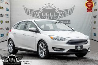Used 2015 Ford Focus Titanium, NAVI, BACK-UP CAM, LEATHER, PUSH START, BLUETOOTH for sale in Toronto, ON