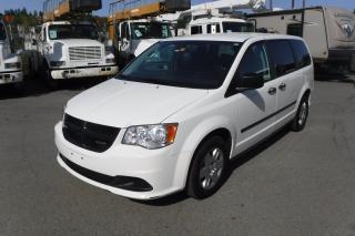 Used 2013 Dodge Grand Caravan CARGO VAN for sale in Burnaby, BC