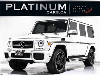 Used 2015 Mercedes-Benz G-Class G63 AMG, NAVI, CAM, HEATED COOLED LTHR, ALCANTARA for sale in Toronto, ON