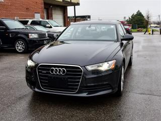 Used 2012 Audi A6 3.0T Quattro PREMIUM, NAVI, Heated LTHR, Roof for sale in Toronto, ON