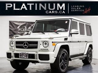 Used 2013 Mercedes-Benz G63 AMG NAVI, Designo RED LTHR, Blindspot for sale in Toronto, ON