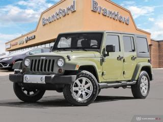 Used 2013 Jeep Wrangler Unlimited Sahara  -  - Air - $234.00 B/W for sale in Brantford, ON