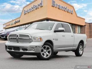 Used 2017 RAM 1500 Laramie  - Leather Seats -  Cooled Seats - $270.28 B/W for sale in Brantford, ON