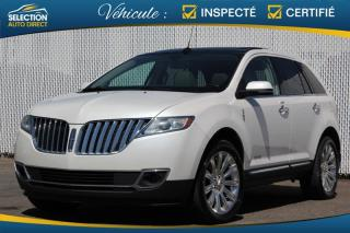 Used 2015 Lincoln MKX AWD for sale in Ste-Rose, QC