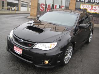 Used 2013 Subaru WRX STI Sport-tech Navigation Sunroof 1 Owner for sale in North York, ON