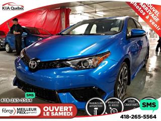 Used 2017 Toyota Corolla iM Sieges Ch. Camera for sale in Québec, QC
