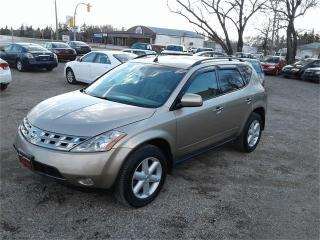 Used 2005 Nissan Murano SE for sale in Oak Bluff, MB