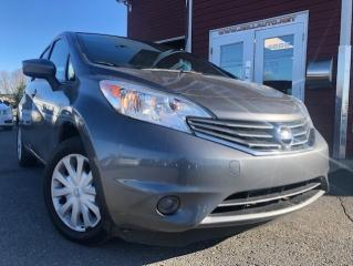 Used 2016 Nissan Versa Note 1.6 SV à hayon 5 portes BA for sale in Drummondville, QC