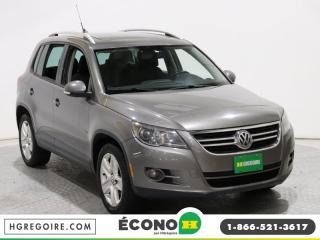 Used 2010 Volkswagen Tiguan COMFORTLINE for sale in St-Léonard, QC