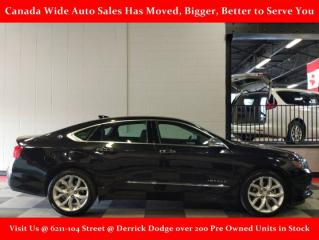 Used 2018 Chevrolet Impala Premier, Leather, Sunroof, Back Up Camera, Heated Seats for sale in Edmonton, AB