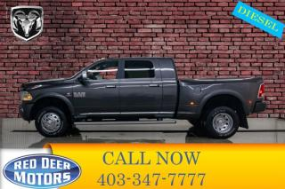 Used 2017 RAM 3500 4x4 Mega Cab Limited Dually Diesel for sale in Red Deer, AB