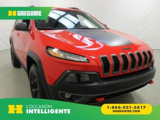 Used 2018 Jeep Cherokee V6 AWD A/C for sale in St-Léonard, QC