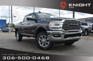New 2019 RAM 2500 Laramie Crew Cab | Ventilated Seats | Navigation for sale in Swift Current, SK