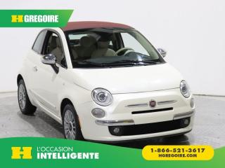 Used 2013 Fiat 500 Lounge Cabriolet for sale in St-Léonard, QC
