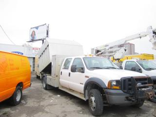 Used 2007 Ford F-450 4x4 diesel alu 9 ft dump box 4 door for sale in North York, ON
