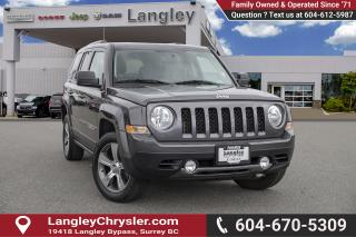 Used 2017 Jeep Patriot Sport/North *HIGH ALTITUDE FWD* *LEATHER AND ROOF* for sale in Surrey, BC