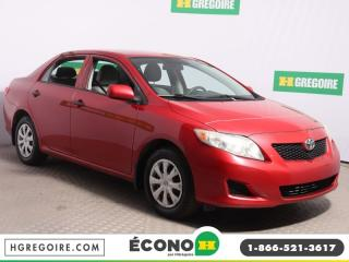 Used 2009 Toyota Corolla CE for sale in St-Léonard, QC