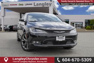 Used 2015 Chrysler 200 S *LOADED* for sale in Surrey, BC