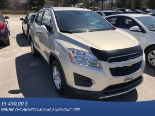 Used 2015 Chevrolet Trax Lt Crossover for sale in Rivière-Du-Loup, QC