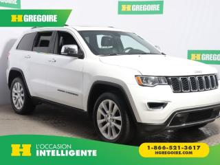 Used 2017 Jeep Grand Cherokee LTD 4X4 CUIR NAV for sale in St-Léonard, QC