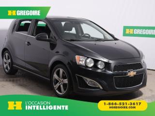 Used 2015 Chevrolet Sonic RS A/C CUIR TOIT for sale in St-Léonard, QC