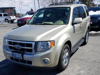 Used 2011 Ford Escape Limited Leather | V6 | CERTIFIED for sale in Waterloo, ON