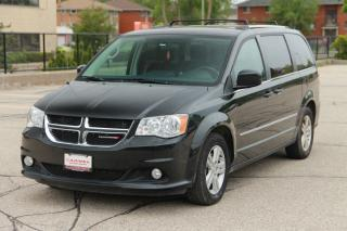 Used 2014 Dodge Grand Caravan Crew STOW-N-GO  | CERTIFIED for sale in Waterloo, ON