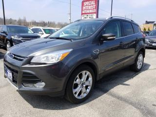 Used 2015 Ford Escape Titanium NAVIGATION !!  HEATED LEATHER !!  AWD !! for sale in Cambridge, ON