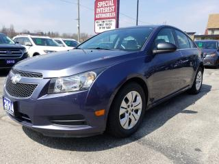 Used 2014 Chevrolet Cruze 1LT LOW KMS !!  BLUE TOOTH !!  REMOTE START !! for sale in Cambridge, ON