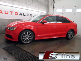 Used 2015 Audi A3 2.0t Technik S-Line for sale in St-Eustache, QC