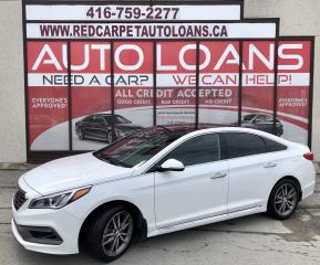 Used 2015 Hyundai Sonata 2.0T Ultimate 2.0T ULTIMATE-ANY CREDIT ACCEPTED for sale in Scarborough, ON