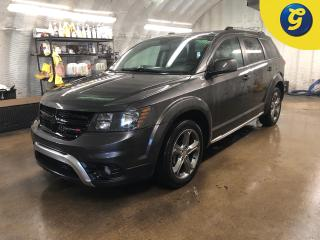 Used 2017 Dodge Journey Crossroad * AWD * 7 passenger * DVD player * Navigation * Sunroof * Leather * 8.4 inch touchscreen U connect *  Reverse camera * Heated front seats/st for sale in Cambridge, ON