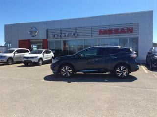 Used 2016 Nissan Murano Platinum AWD CVT for sale in Smiths Falls, ON