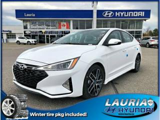 Used 2019 Hyundai Elantra 1.6T Sport Manual w/ Winter tire pkg for sale in Port Hope, ON